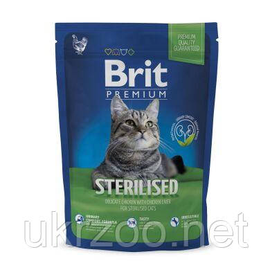 Сухий корм Бріт Преміум Кет Стерилайзд, для стерилізованих котів, 800 г,  170364