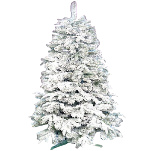 Новогодняя Искусственная Елка «Натуральная белая» 2.1 м   124 см.
