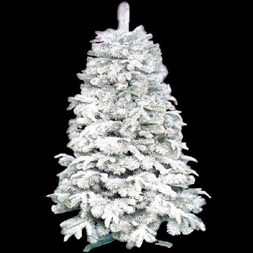 Новогодняя Искусственная Елка «Премиум заснеженная» 1.6 м | 88 см. из пластика