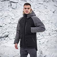 "Парка зимова Pobedov ""seniora udacha"" сіра, фото 1"