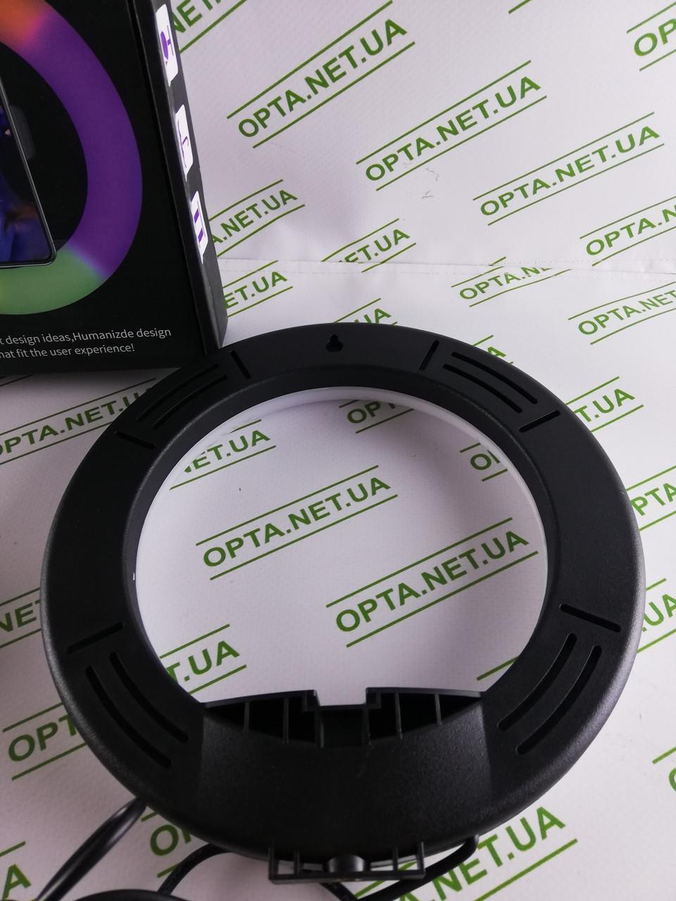 Качественная Круговая разноцветная LED лампа MJ20 RGB
