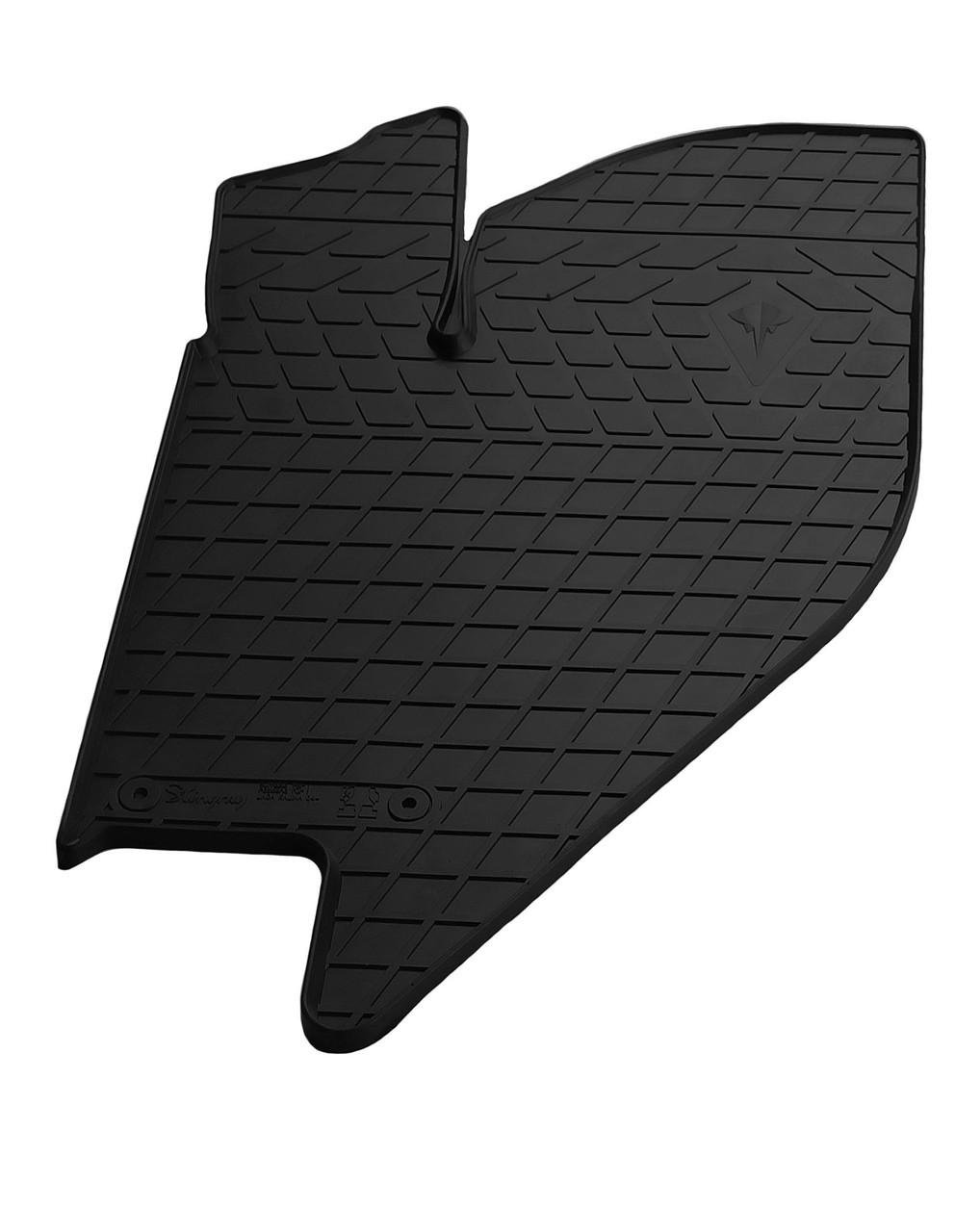 Водительский резиновый коврик для  ВАЗ  Kalina 1118 2004-2011 Stingray