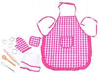 Набор аксессуаров HX20397-98 набор повара для детского творчества 11 предметов розовый