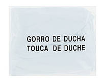 Eurostil Шапочка для душа/окрашивания на резинке Белая (01227/58)