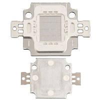 Светодиодная матрица LED 10Вт 100-150лм 9-11В, синяя