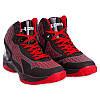 Кроссовки баскетбольные мужские Under Armour (р-р 41-45, черно-красный) Реплика