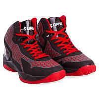 Кроссовки баскетбольные мужские Under Armour (р-р 41-45, черно-красный) Реплика, фото 1