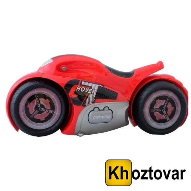 Радиоуправляемый мотоцикл Drift Motorcycle Mist Spray Car | Мотоцикл-перевертыш