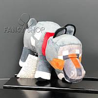 """Іграшка мяка """"МАЙНКРАФТ. Собака"""", Мягкая игрушка """"Minecraft. Собака"""", фото 2"""