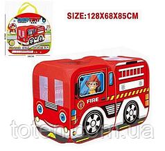 Намет дитячий ігровий 128 см Пожежна машина 333-116 M 5783