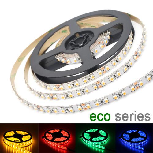 LED стрічка 3528 120 led/m 9,6 W/m IP20 12V червона, синя, жовта, зелена серія eco