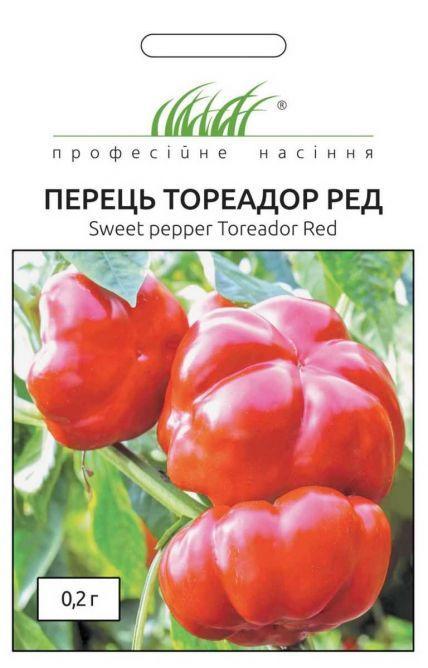 ТМ Професійне насіння Перец Тореадор Ред красный 0,2г