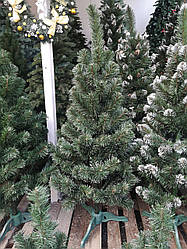 Елка искусственная 1,0 м с белым кончиком СКАЗКА, в коробке Украина
