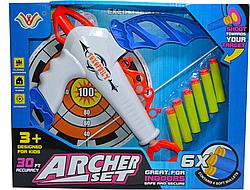 """Лук с мишенью """"Archery"""" мягкие стрелы"""