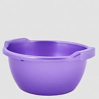 Таз пластм. 12 л фиолетовый