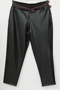 Турецкие женские кожаные брюки больших размеров 48-56