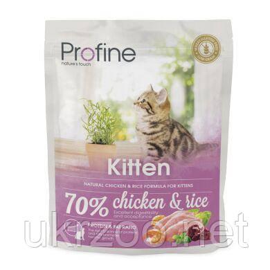 Сухий корм Профайн Кіттен, для кошенят з куркою, 300 г, 170559