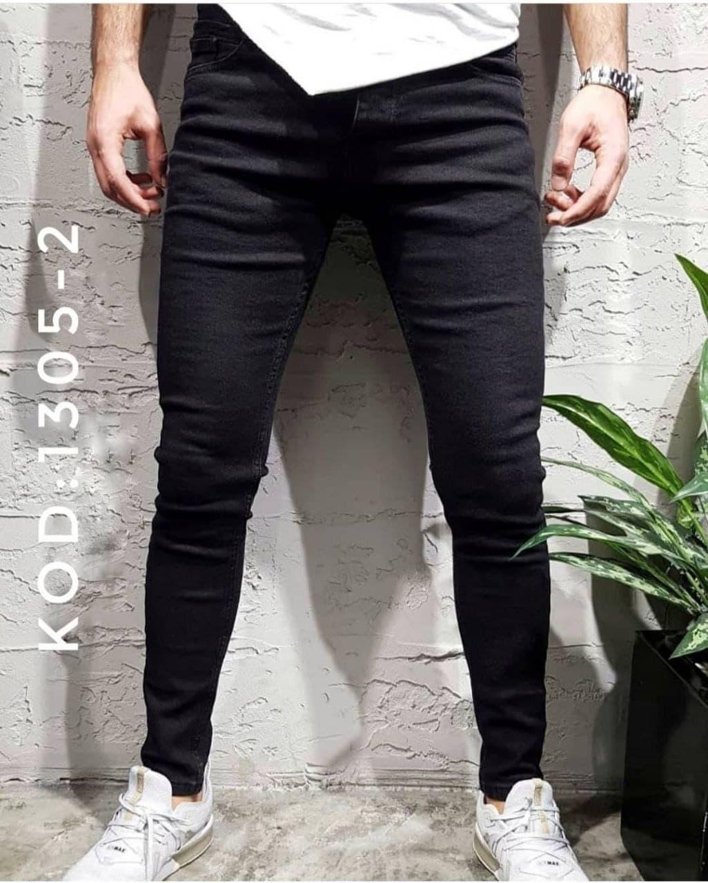 Мужские черные джинсы пр-во Турция О Д