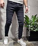 Мужские черные джинсы пр-во Турция О Д, фото 2