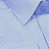 Сорочка чоловіча, прямого крою з довгим рукавом Birindelli 03-257 80% бавовна 20% поліестер L(Р), фото 2