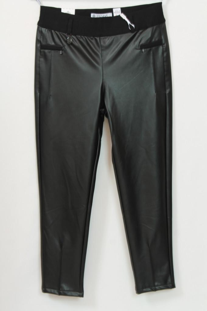 Турецкие женские кожаные брюки больших размеров 48-64