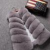 Женская меховая жилетка. KO128