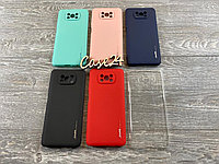 TPU чехол Smitt накладка бампер для Xiaomi Poco X3 NFC (6 цветов), фото 1