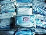 Маски медицинские ПРЕМИУМ Китай трехслойные с фильтром Мельтблаун. С фиксатором для носа. Качественная ПАЙКА!, фото 5