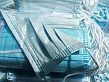 Маски медицинские ПРЕМИУМ Китай трехслойные с фильтром Мельтблаун. С фиксатором для носа. Качественная ПАЙКА!, фото 2
