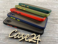TPU чехол накладка Matte Color Case (TPU) для Samsung Galaxy A20 (5 цветов), фото 1