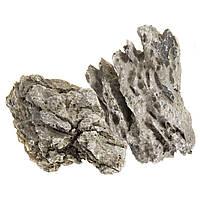 Декорация для аквариума Aquael камни «Black quartz rock» 20 кг (натуральные)