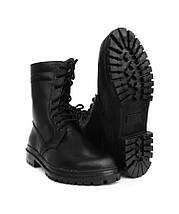 Берцы (ботинки с высокими берцами) кожа Скорпион бортопрошивные НАТО Зима (Мех) черные, фото 3