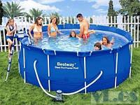 Каркасный бассейн BESTWAY 56088 (366х122 см), фото 1