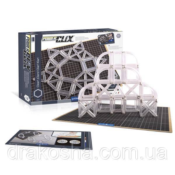 Конструктор Guidecraft PowerClix Frames Clear, 74 детали (G9203)