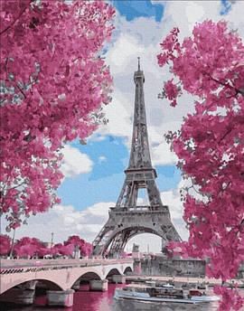 Картина по номерам Магнолия в Париже 40 х 50 см (PGX29271) Премиум набор