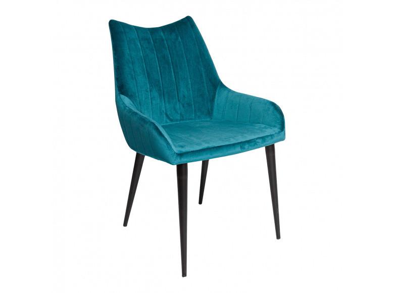 Обеденный стул SAVANNAH (Саванна) бирюзовый велюр от Nicolas