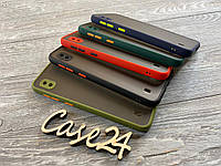 TPU чехол накладка Matte Color Case (TPU) для Samsung Galaxy A10 (5 цветов), фото 1
