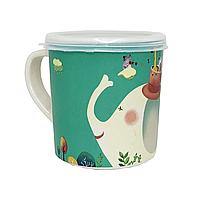 """Эко-чашка с крышечкой """"Слон"""", фото 1"""