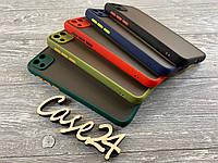 TPU чехол накладка Matte Color Case (TPU) для Huawei Y5p (5 цветов), фото 1