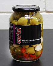 Оливки гиганты без косточки Corbi, 835 г (Испания)