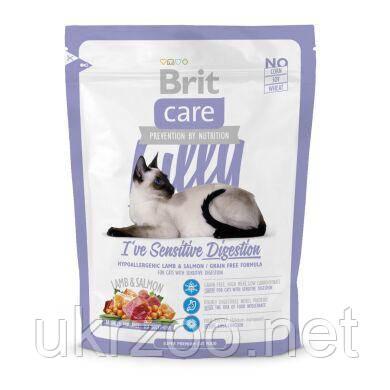 Сухий корм Бріт Кеа Кет Лілі для котів з чутливим травленням з ягнятиною, 400 г, 132617