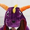 Кигуруми піжама Дракон піжама комбінезон фіолетова S, фото 6
