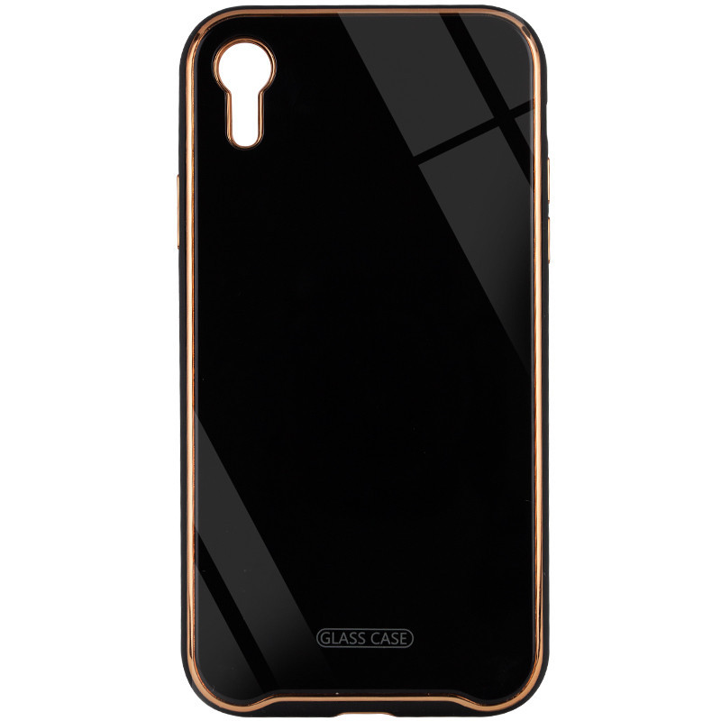 "TPU+Glass чехол Venezia для Apple iPhone XR (6.1"")"
