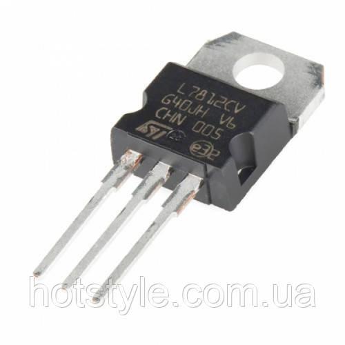 Чип L7809CV L7809 TO220, Cтабилизатор напряжения линейный +9В 1.5А, 104390