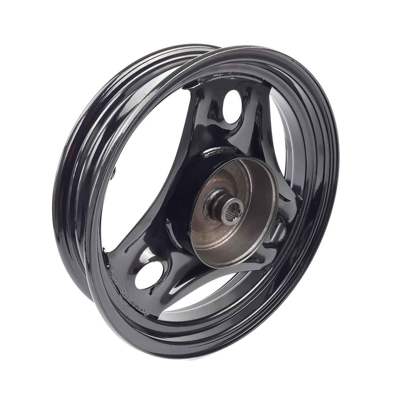 Диск колеса задний HONDA DIO AF-34/35 (Taiwan) черный