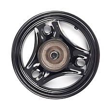 Диск колеса задний HONDA DIO AF-34/35 (Taiwan) черный, фото 3