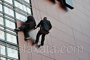 Харьков - Монтаж подсистемы (каркаса) для вентилируемого фасада
