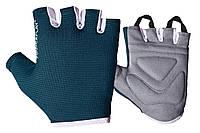 Фітнес рукавички PowerPlay 3418 жіночі Сині S