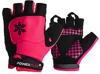 Велорукавички PowerPlay 5284 C Рожеві XS