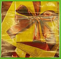 """Пакет с пластиковой ручкой  """"Красный бант""""  без ручки (10 шт), фото 1"""